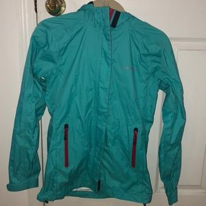 Fits like a S/M Vineyard Vines rain jacket